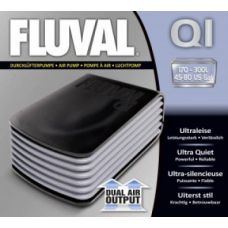 Компрессор для аквариума двухканальный бесшумный Hagen Fluval Q 1 A850
