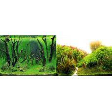 Задний фон для аквариума двухсторонний 40см высота 9084