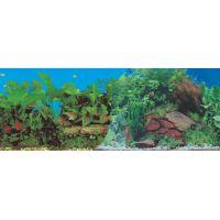 Задний фон для аквариума двухсторонний 40см высота 9014/9031