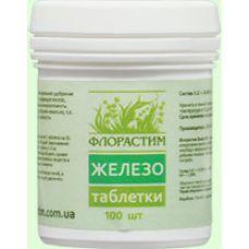 Флорастим удобрение для аквариумных растений Таблетки Железо 100 шт