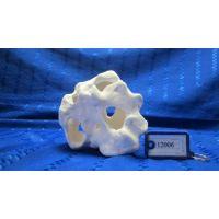 Камень с отверстиями керамический (белая глина) Е12006