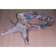 Керамика для аквариума Лодка 0326К