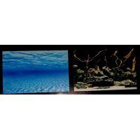 Задний фон для аквариума двухсторонний 60см высота 9073/9074