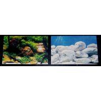Задний фон для аквариума двухсторонний 30см высота 9075/9076
