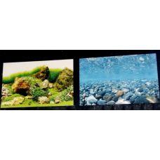 Задний фон для аквариума двухсторонний 60см высота 9078/9079