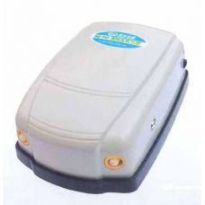 Компрессор для аквариума воздушный двухканальный MJ NS 750 3.5L/min