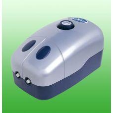 Компрессор для аквариума двухканальный с регулировкой подачи воздуха PS 850 8L/min