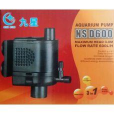 Внутренний насос помпа для аквариума MJ NS-D600 600L/H