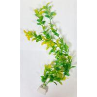 """Пластиковое растение для аквариума CW-2802 10"""""""