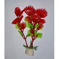 Пластиковое растение для аквариума Hidom pet-10009 S