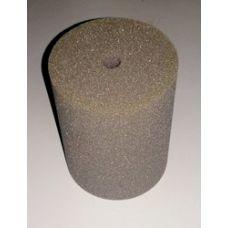 Фильтрующая губка к насосам (помпам) цилиндр б/б 9х15см (мелкопористая)