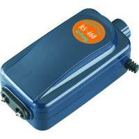 Компрессор для аквариума воздушный двухканальный с регулировкой подачи воздуха RS-Electrical RS-460 4.5L/min