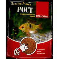 Корм Золотая Рыбка Рост (гранулы) для небольших рыбок 40г