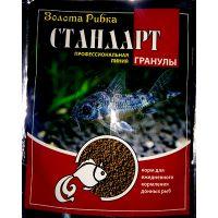 Корм Золотая Рыбка Стандарт №1 (гранулы 1-2мм) для донных рыб 100г