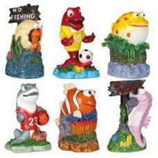 Декорация для аквариума Набор Морские жители 12шт, Trixie 8792