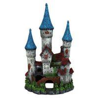Декорация для аквариума Замок с башенками 12см Trixie 87820