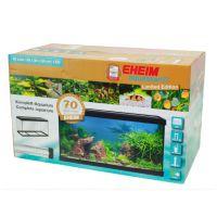 Аквариумный набор 64 литра прямоугольный с крышкой EHEIM aquastar 64 LED черный 0340708