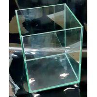 Аквариум 10 литров прямоугольный (прозрачный силикон)