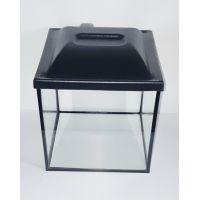 Аквариум 15 литров кубический с крышкой пластик