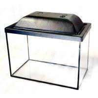 Аквариум 13 литров прямоугольный с крышкой пластик