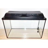 Аквариум 112 литров прямоугольный с крышкой пластик