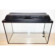 Аквариум 140 литров прямоугольный с крышкой пластик ЛН
