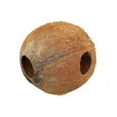 Домик-кокос для сомов V2 цельный с отверстиями