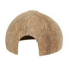 Домик-кокос для сомов V4 гладкий с отверстием