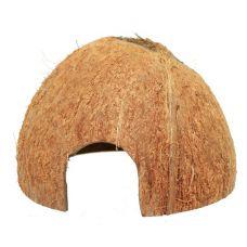 Домик-кокос для сомов V5 с отверстием