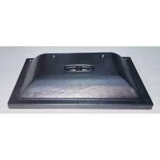 Крышка для аквариума прямая черная EX 40x25 БЕЗ СВЕТА