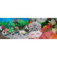 Задний фон для аквариума двухсторонний 40см высота 9019/9029