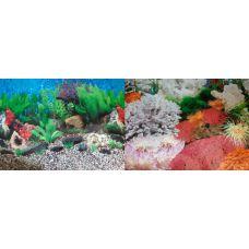 Задний фон для аквариума двухсторонний 60см высота 9019/9029