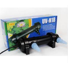 Внешний ультрафиолетовый стерилизатор для пруда Jebo UV-H18, 18 Вт