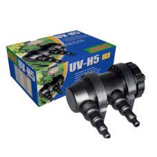 Внешний ультрафиолетовый стерилизатор для аквариума Jebo UV-H5 5 Вт