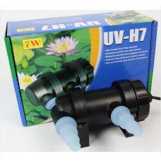 Внешний ультрафиолетовый стерилизатор для аквариума Jebo UV-7H, 7 Вт