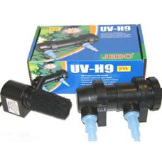 Внешний ультрафиолетовый стерилизатор для пруда Jebo UV-H9, 9 Вт