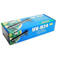 Внешний ультрафиолетовый стерилизатор для пруда Jebo UV-H24, 24 Вт