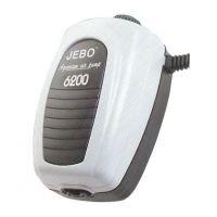 Компрессор для аквариума внешний двухканальный Jebo 6800 4 L/min