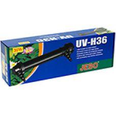 Внешний ультрафиолетовый стерилизатор для пруда Jebo UV-H36, 36 Вт