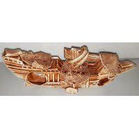 Керамика для аквариума Корабыль 1213К
