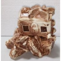 Керамика для аквариума Сундук на скале 188-2K