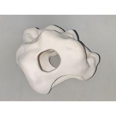 Камень с отверстиями керамический (белая глина) U2