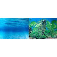 Задний фон для аквариума двухсторонний 30см высота DB8