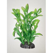 Пластиковое растение для аквариума 3115 green