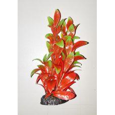 Пластиковое растение для аквариума 3115 red