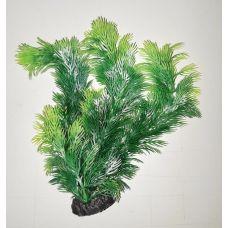 Пластиковое растение для аквариума 3115H green