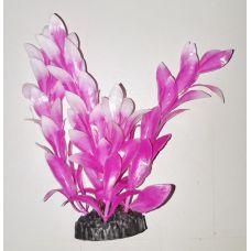 Пластиковое растение для аквариума 3115 rose