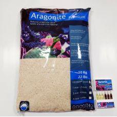 Песок с бактериями для морского аквариума Prodibio Aragonite Premium 1-2mm 10кг
