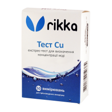 rikka Тест Cu на медь в воде