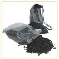 Уголь активированный для внешних и внутренних аквариумных фильтров Aqua Nova 500г